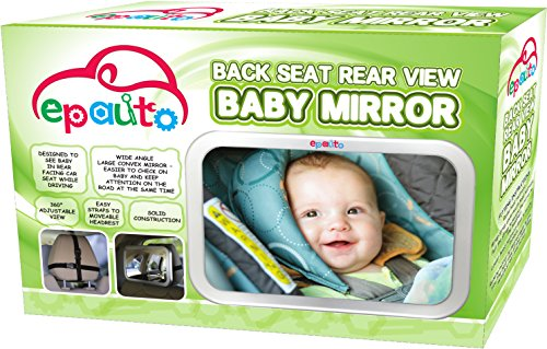 Epauto Baby Car Back Seat Mirror For Baby And Mom Rear