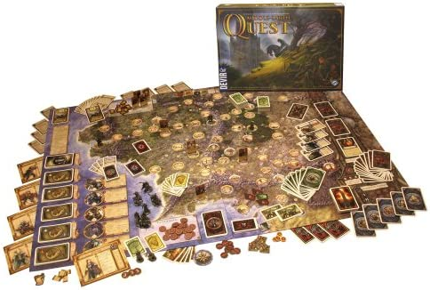 Devir - Middle Earth Quest, Juego de Mesa (BGMEQ): Amazon.es: Juguetes y juegos