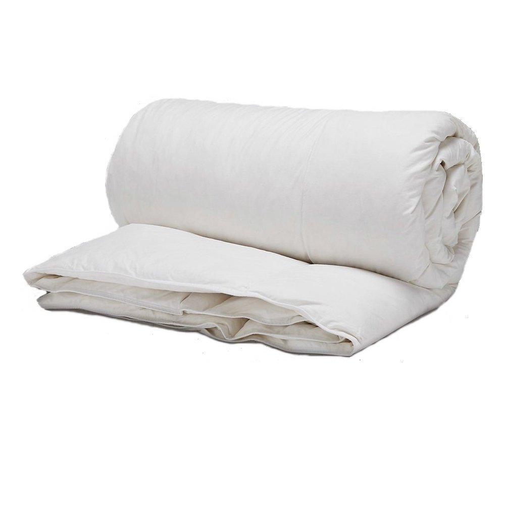 i-baby Baby Duvet Insert (Cover + Filling) Baby Bedding Nursery Quilt Newborn Comforter 100% Cotton Cover 100% Polyester Filling 48 x 59 inch (120x150cm) for Boys Girls (White)