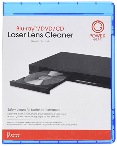 Price comparison product image POWER GEAR 33628 Laser Lens Cleaner for CD, DVD & Blu-ray