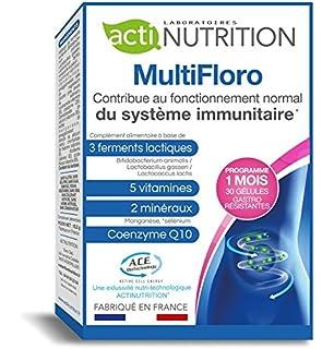 ACTInutrition - Multifloro probióticos para adelgazar - 3 fermentos lácticos | 10.000 millones UFC de bifidobacterias,…