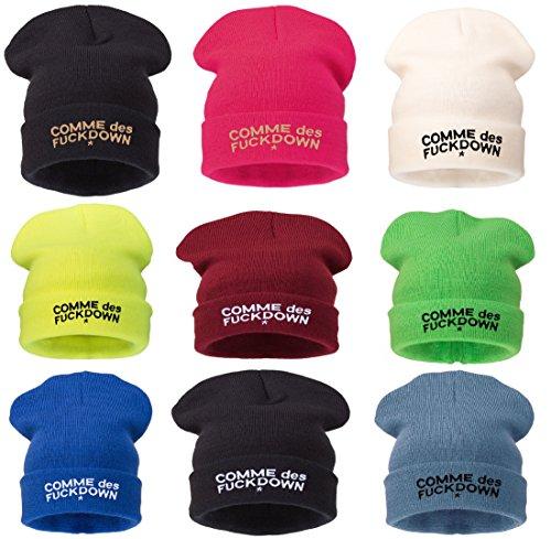 Bonnet 6 4sold Black Soft Logo modelos Hats Commes con TwfZqz5