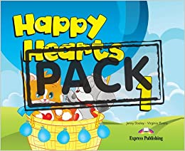 Book Happy Hearts 1 (with Stickers, Pressouts, Extra Optional Units) (International)