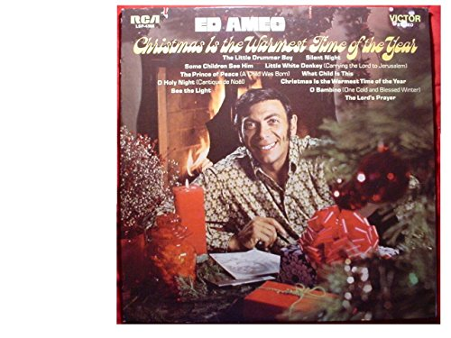 1970 Christmas Is The Warmest Time Of The Year Vinyl LP Record (Ame 2000)