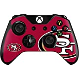 Skinit NFL San Francisco 49ers Xbox One Controller Skin - San Francisco 49ers Large Logo Design - Ultra Thin, Lightweight Vinyl Decal Protection