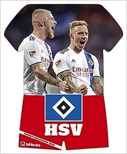 Hamburger SV Pantofole in Feltro
