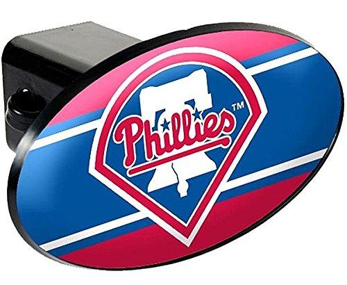 Philadelphia Phillies Trailer Hitch Cover - Plastic - Licensed MLB Baseball Merchandise