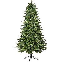 Deals on GE 7-ft Pre-lit Ashville Fir Artificial Christmas Tree