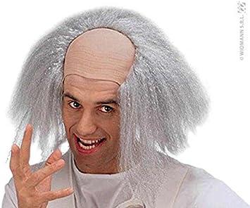 Smiffys Peluca para disfraz de científico loco: Amazon.es ...