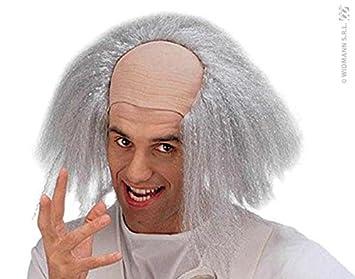 Smiffys Peluca para disfraz de científico loco