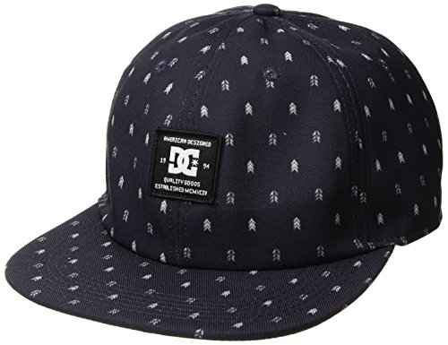 Dc Print Hat (DC Men's Expander, Dark Indigo, 1SZ)