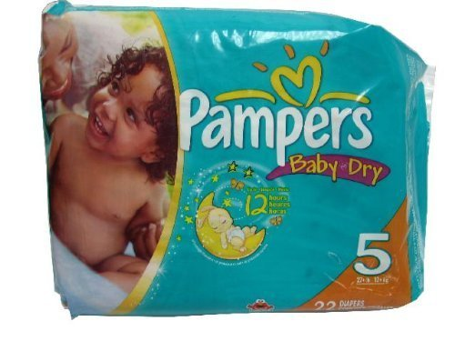 Pampers Diapers Size 5-22ct. by Pampers