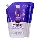 Method Naturally Derived 8X Concentrated Laundry Detergent Refill, Lavender Cedar, 85 Loads, 34 Fluid Ounce