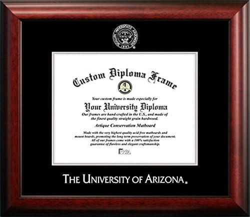 Reno 8/½ x 11 Mahogany Finish Infinity Diploma Frame Celebration Frames University of Nevada