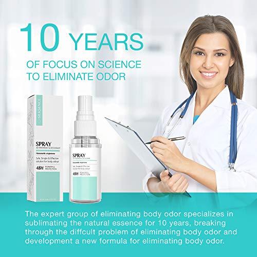 Deodorant Antiperspirant Body Spray - Mist Lasting Fresh Scent Natural Deodorant For Women And Men