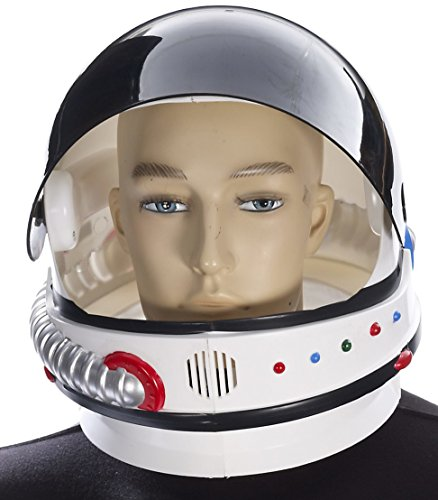 Forum Men's Novelty Deluxe Astronaut Helmet, Multi, One - Deluxe Adult Helmet
