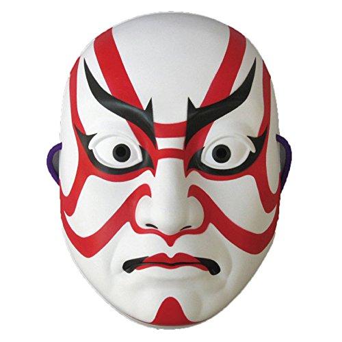 Omatsuri Land Japanese Kabuki Mask Sujiguma Design