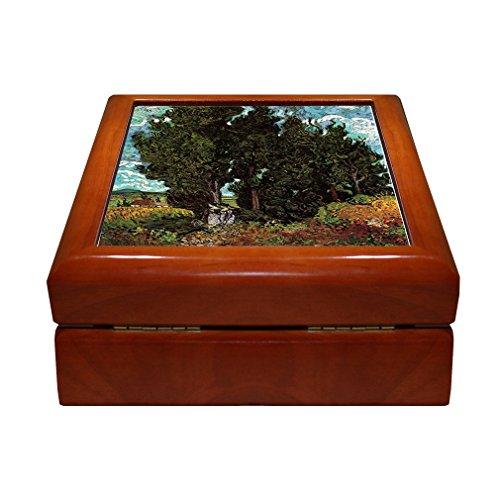 - Cypresses Two Female Figures (Van Gogh) 4