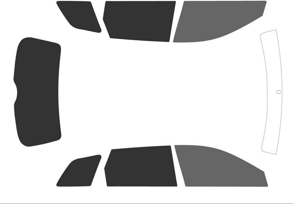 Noir Variance Auto Films Teint/és pour Auto Kit Complet Avant Black 20 - Arri/ère Black 05
