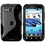 mumbi TPU - Carcasa para Motorola Defy/Defy+, negro