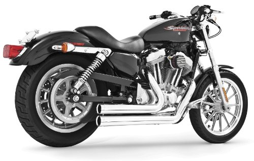 (Independence Shorty Chrome Exhaust System for Harley 2006-2011 Dyna Models by Freedom Performance)