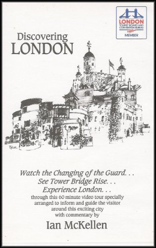 Discovering London (Video Tour Specially Arranged to Inform and Guide the Visitor) VHS VIDEO