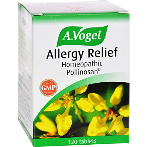 A Vogel, Allergy Relief Pollinosan, 120 Tablets