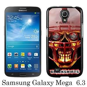 Popular Samsung Galaxy Mega 6.3 I9200 I9205 Case ,Ncaa Big Ten Conference Football Nebraska Cornhuskers 14 black Samsung Galaxy Mega 6.3 I9200 I9205 Cover Beautiful And Durable Designed Case
