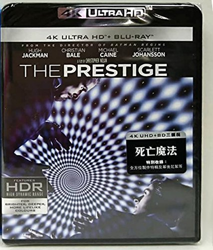 4K Blu-ray : Prestige (2006) (With Blu-Ray, 4K Mastering, Asia - Import, 3PC)