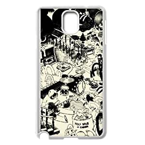 Samsung Galaxy Note 3 Cell Phone Case White Funky Art BNY_6851056