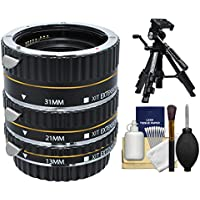 Xit Pro Series AF Macro Extension Tube Set with Tripod +...