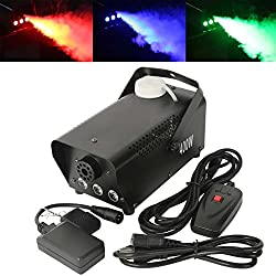 NEW! 400W RGB LED Fog Machine Remote Control Lighting Stage Fogger Smoke Thrower