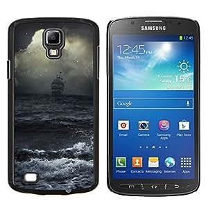 LECELL--Funda protectora / Cubierta / Piel For Samsung Galaxy S4 Active i9295 -- Ocean Waves tormenta Vela Barco Piratas --