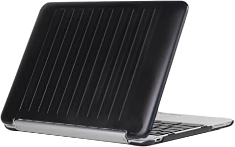 iPearl mCover Hard Shell Case for 10.1-inch ASUS Chromebook Flip C100PA Series Laptop (Black)