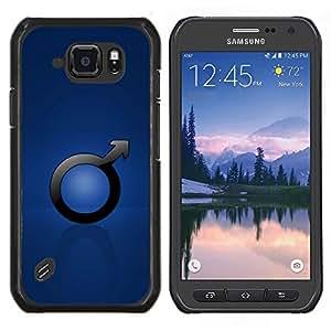LECELL--Funda protectora / Cubierta / Piel For Samsung Galaxy S6Active Active G890A -- Hombre Hombre sesión --