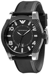 Armani Emporio AR5838 - Reloj de pulsera para mixte enfant, negro / negro