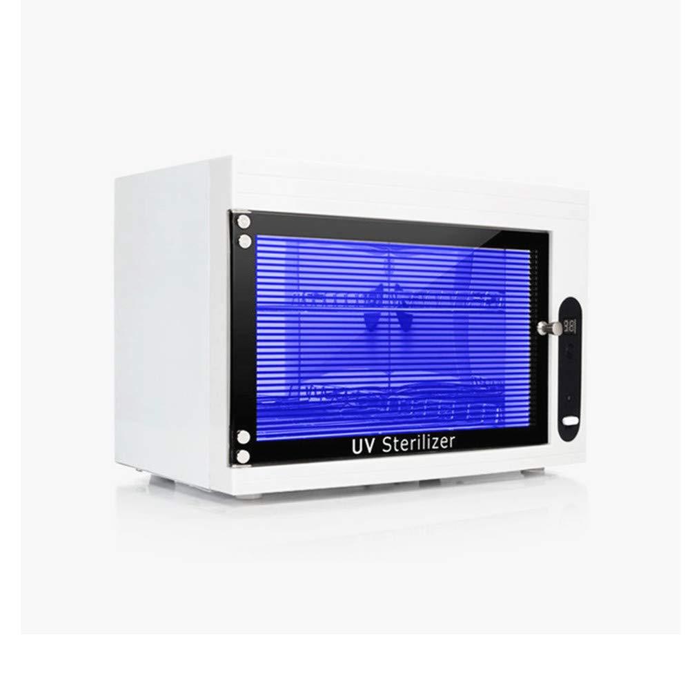 110V UV Sterilizer Cabinet Tabletop Ultraviolet Towel Sterilizer Professional for Salon Spa Facial Skin Beauty Care Nail Art Tool Equipment Disinfect Machine