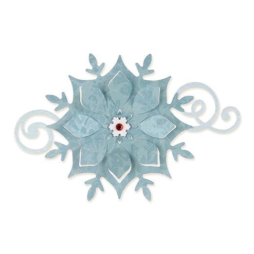 14 opinioni per Sizzix Bigz Fustella Fiocco di Neve, Acciaio, 14X15.2 cm