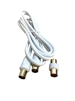 Hash de RF mosca Lead Cable coaxial de antena Digital TV macho a – /de
