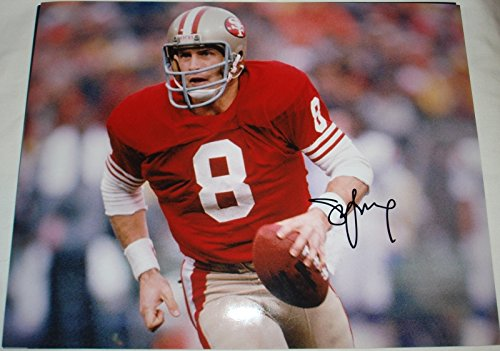 Steve Young Hand Signed / Autographed San Francisco 49ers 11 x 14 (Steve Young Hand Signed)