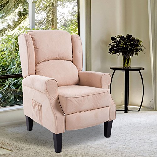 Sofa Recliner Chair Deluxe Ergonomic Lounge Padded Seat Backrest Stretched Vibrating - Outlet Mall Duluth