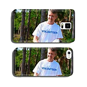 Volunteer beach park environmental cleanup cell phone cover case iPhone6 Plus