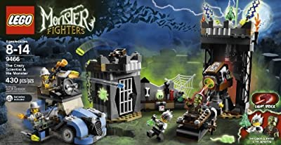 Lego Monster Fighters The Crazy Scientist His Monster 9466 by LEGO