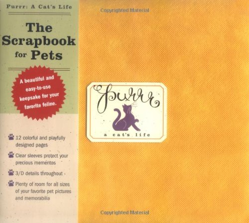 Purrr: A Cat's Life: The Scrapbook for Pets by Brand: Cider Mill Press