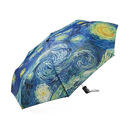 (The Original STARRY NIGHT Collapsible Umbrella by MoMA)