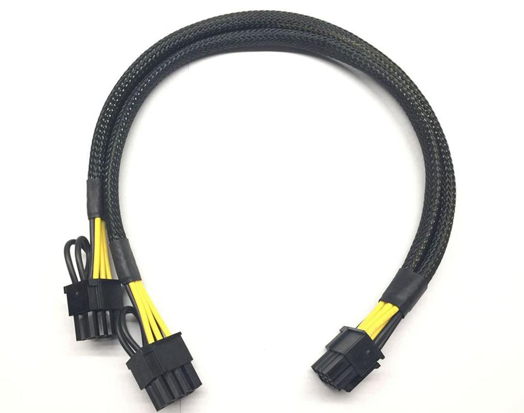 8pin to 8pin Power Cable for DELL PowerEdge R730 and NVIDIA Quadro GPU 35cm