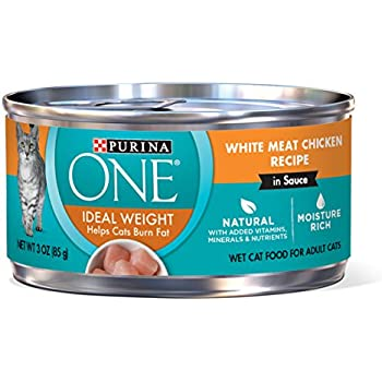 Purina ONE Natural Adult Canned Wet Cat Food - (24) 3 oz  Cans