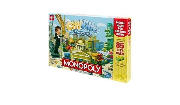 Zynga Cityville Monopoly Game by Hasbro: Amazon.es: Juguetes y juegos