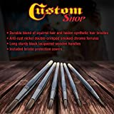 Custom Shop Set of 6 Lettering Quill Brushes for