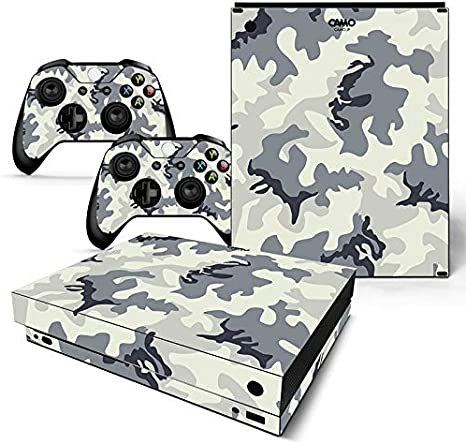 Vinilo Adhesivo para Consola Xbox One X y 2 Controladores, diseño ...